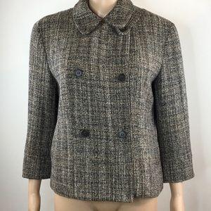 Premise chic blazer sz XL petite wool blend